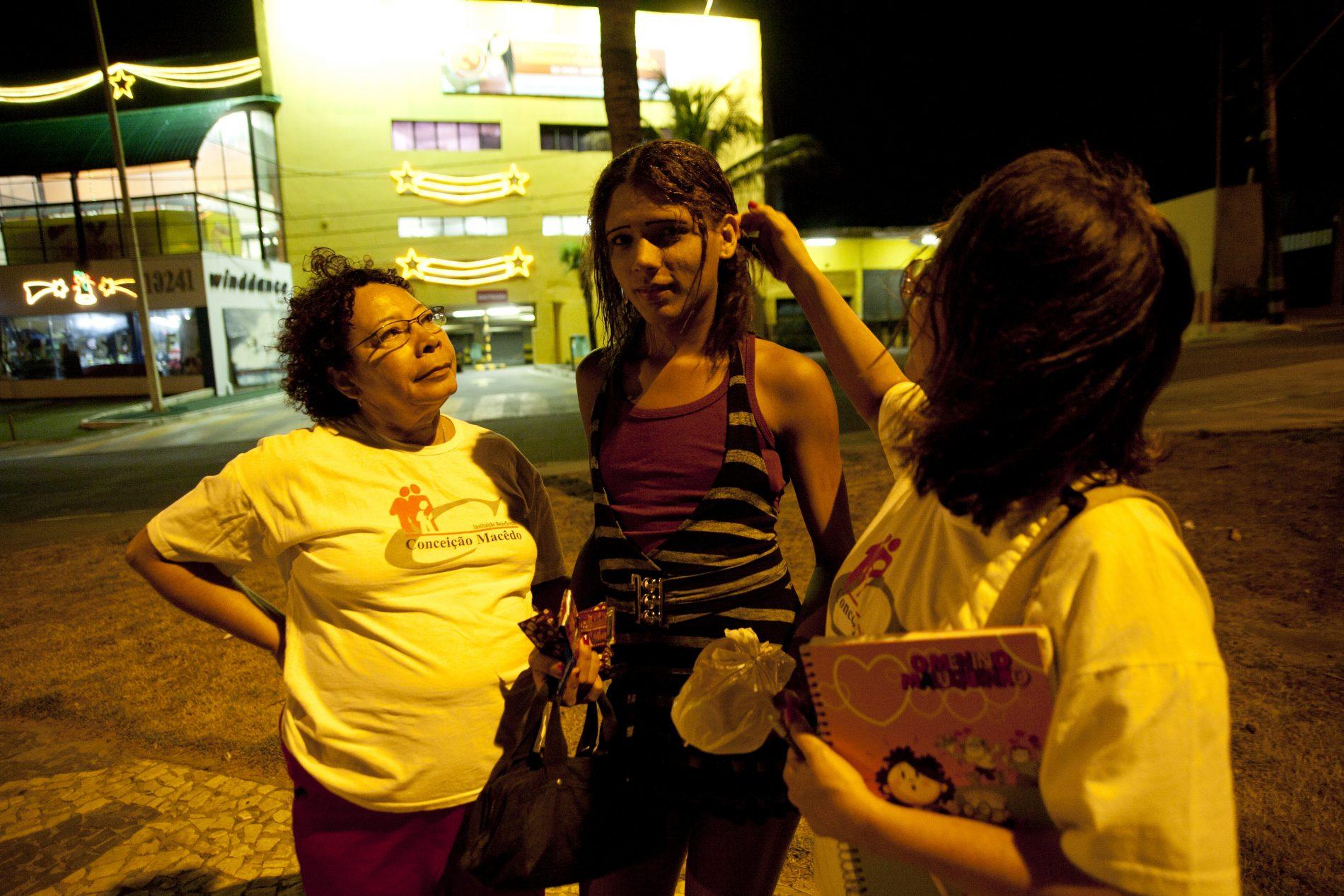 Транс проституты