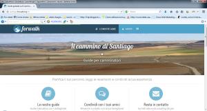 Home page di Santiago-Forwalk.org