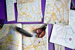 Le cartine stradali londinesi sono tra i temi più richiesti per i prodotti di Clajs