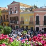 Cagliari: nel quartiere dei balconi fioriti la musica aiuta a vivere meglio