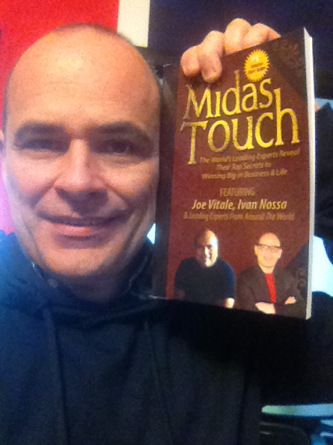 "Ivan Nossa, co-autore del bestseller ""The Midas Touch"""