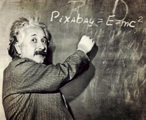 Albert Einstein (foto Pixabay.com)