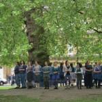 """Regno Unito: """"Rising"""", in piazza a Bath la danza delle donne per salvare il mondo"""