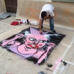 A Bagnara di Romagna al via la stagione dell'arte: nelle piazze pittori, scultori e fotografi