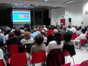 La conferenza a Torino (foto Raffaele Pezzo).