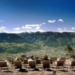 Vacanze: in Alto Adige un cinema dove l'unico film proiettato è lo spettacolo della natura