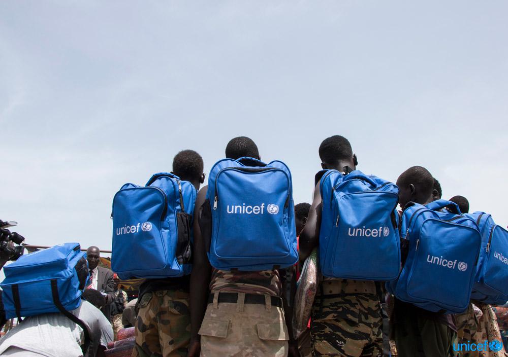 In Sud Sudan rilasciati altri 128 bambini soldato. Obiettivo dell'Unicef: 19.000 in tre anni