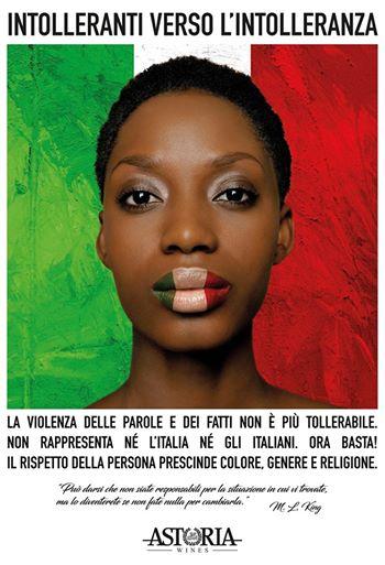 """La pubblicità dell'azienda vinicola Astoria contro il razzismo: """"dovevamo reagire"""""""
