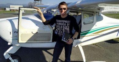 """""""A 4 anni volevo diventare pilota di aerei"""": il sogno realizzato di Jordan"""