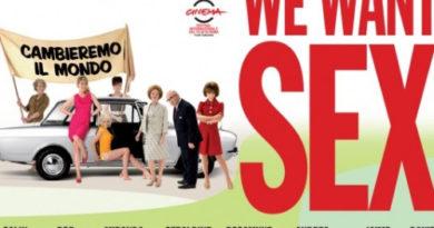 """Oggi lo sciopero delle donne in Svizzera, come nel film """"We want sex"""""""
