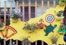 Alì Terme, il paese diventa più bello con le opere d'arte in riciclo creativo