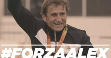 "#Forza Alex! Gli atleti paralimpici cantano ""Dont' stop me now"" per Zanardi"