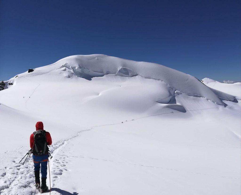 Vassili Bosi in missione sulla neve